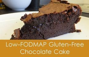 Low Fodmap Gooey Chocolate Cake. Clean it up by using 1-2 tbsp rice malt syrup instead of sugar, 90% Lindt dark chocolate and raw cacao powder.