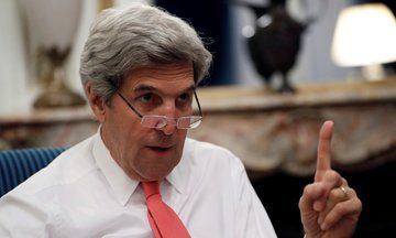 John Kerry: It Was 'Inappropriate' For Donald Trump To Knock Germany's Leader On Refugee Policy   The Huffington Post