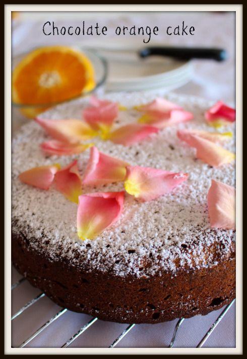 Chocolate orange cake The Hungry Mum
