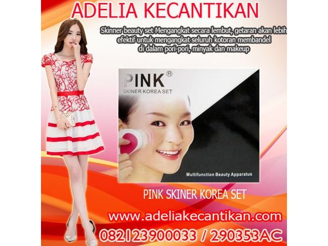 Pink Skinner Beauty Set Korea 082123900033 // 290353AC