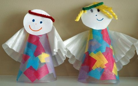 Christmas crafts, songs, and fun ideas for preschoolers to celebrate the birth of Christ.