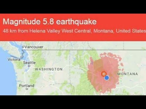 """""""SUPERVOLCANO"""" Concerns RISE After MONTANA HIT By Strongest EARTHQUAKE I..."""