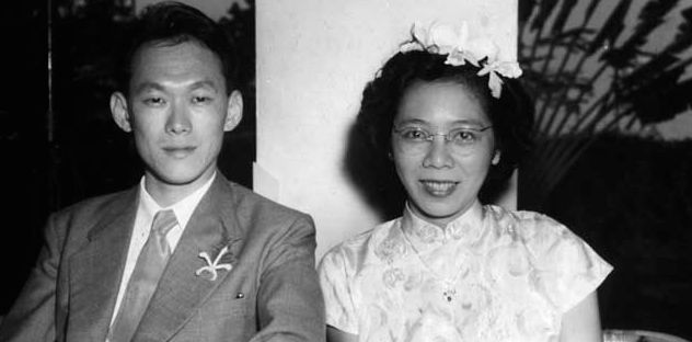 Who knew our founding father, Lee Kuan Yew, was so steadfast in love?
