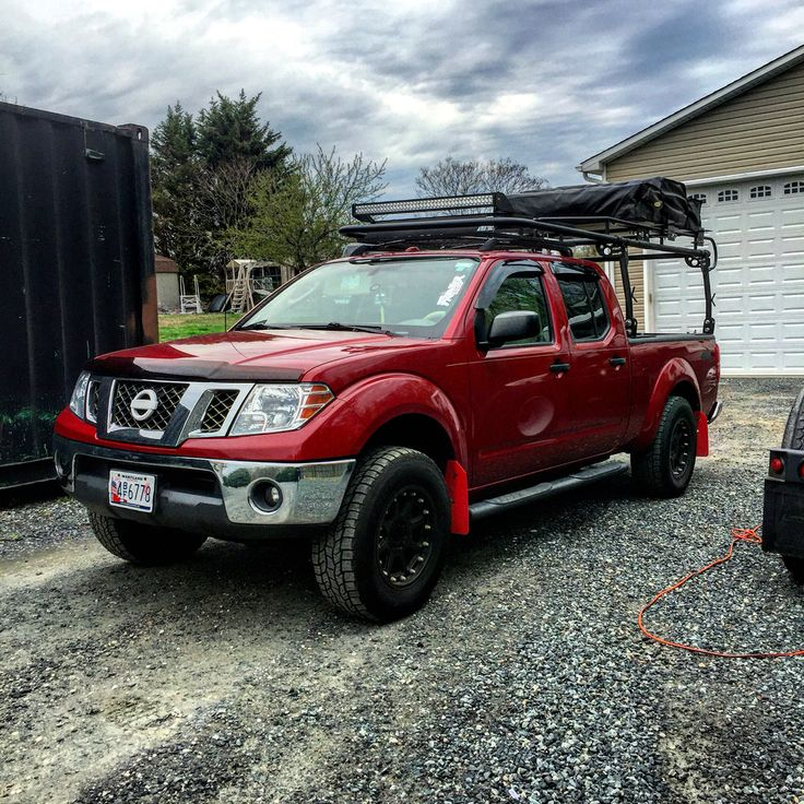 My Nissan Frontier built for overlanding www ...