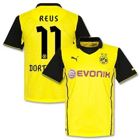 Camiseta del Borussia Dortmund 2013-2014 Champions League + Reus 11