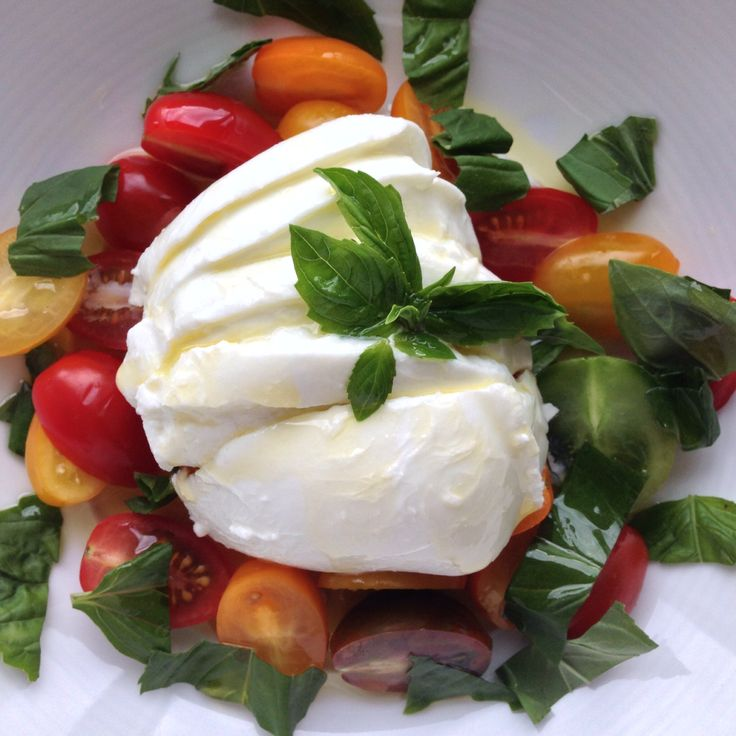 Gorgeous creamy Mozzarella di Bufala flown in fresh every two weeks from Compagnia, Italy.