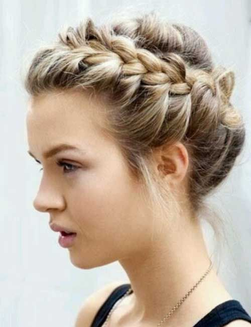 Amazing 1000 Ideas About Short Hair Braid Styles On Pinterest Mixed Short Hairstyles Gunalazisus