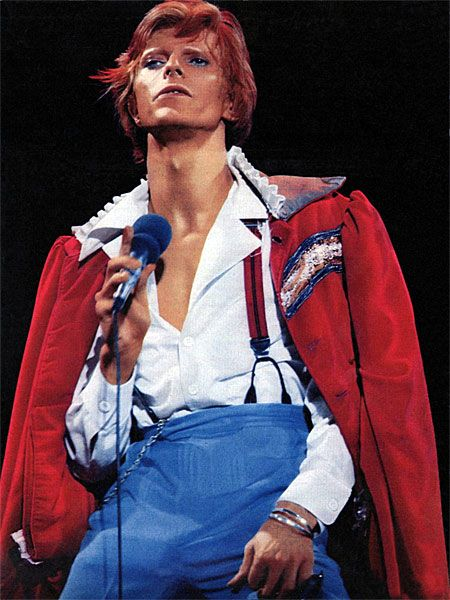1974 USA Live - David Bowie performing Cracked Actor