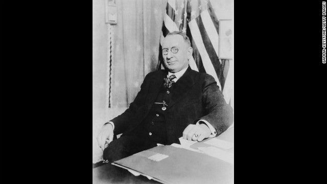 """William Joseph Simmons founded the second Ku Klux Klan on Thanksgiving 1915 after seeing """"The Birth of a Nation."""""""
