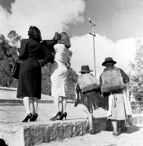 Bogota, Colombia in 1957. (Photo/Nereo Lopez)