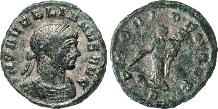 NumisBids: Numismatica Varesi s.a.s. Auction 65, Lot 263 : AURELIANO (270-276) DenarIo. D/ Busto laureato e corazzato R/ La...