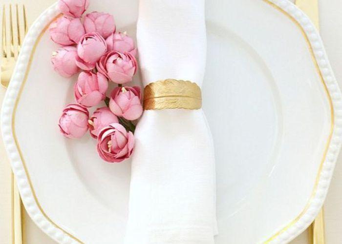 ピンク×ゴールドで作る可愛い空間♡参考にしたい、海外のおしゃれテーブルコーディネート特集*のトップ画像