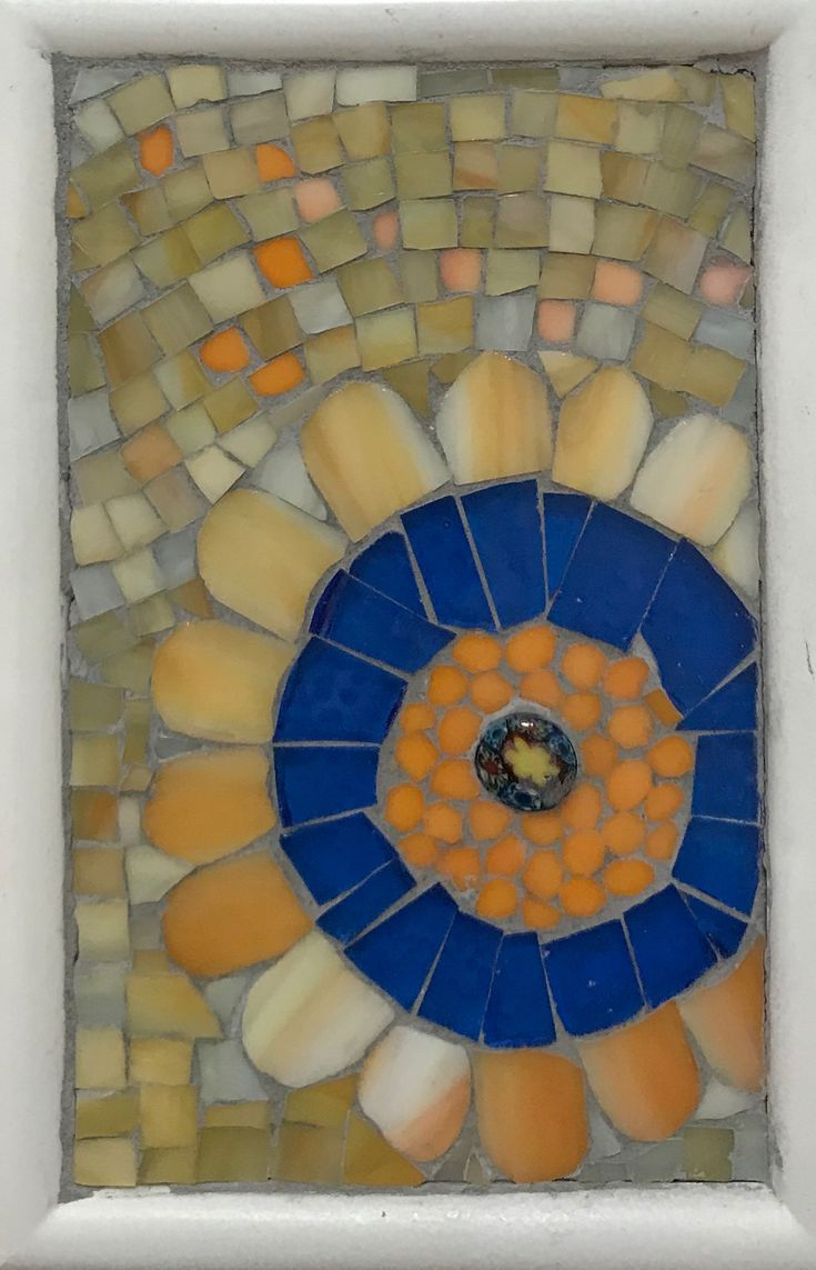 """Butterscotch"" by Rosemary Pulvirenti available st onesmallpieceMosaics.Etsy.com"