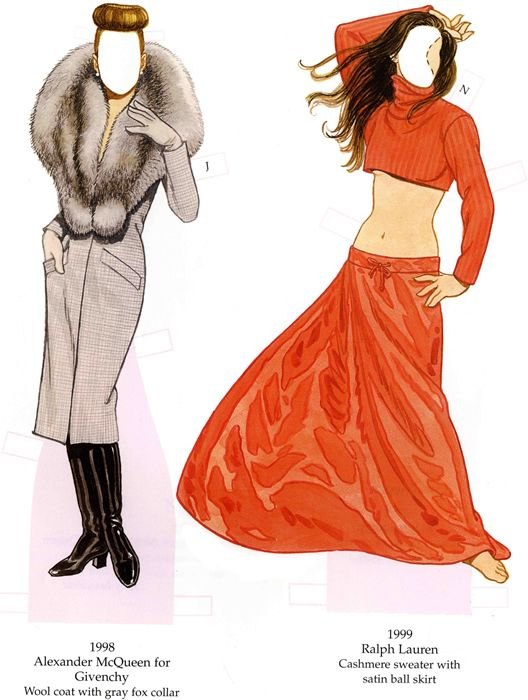 Welcome To Dover Publications Fashion Parade Dolls: 4 Decades Pf Great  Designs From