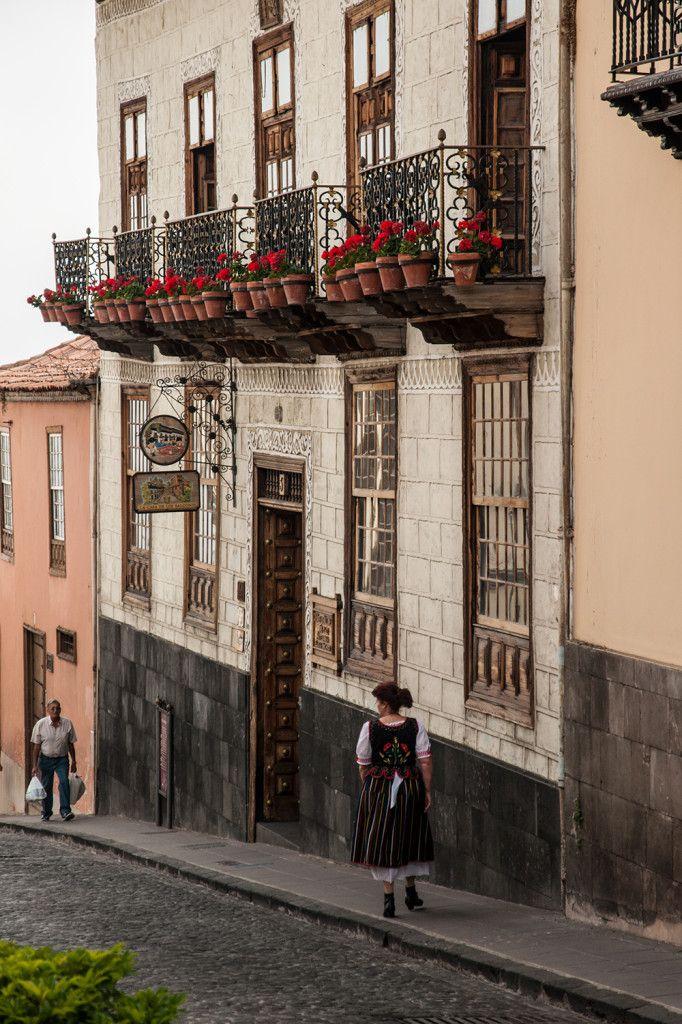 La Casa de los Balcones, Orotava, Tenerife