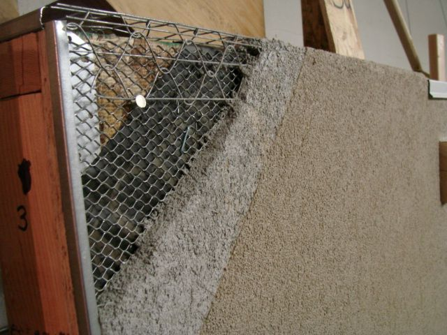Stucco Wall Construction : Plaster and wire wall repair i have found lots of