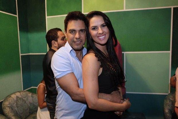 Zezé di Camargo e Graciele Lacerda (Foto: Isac Luz/EGO)