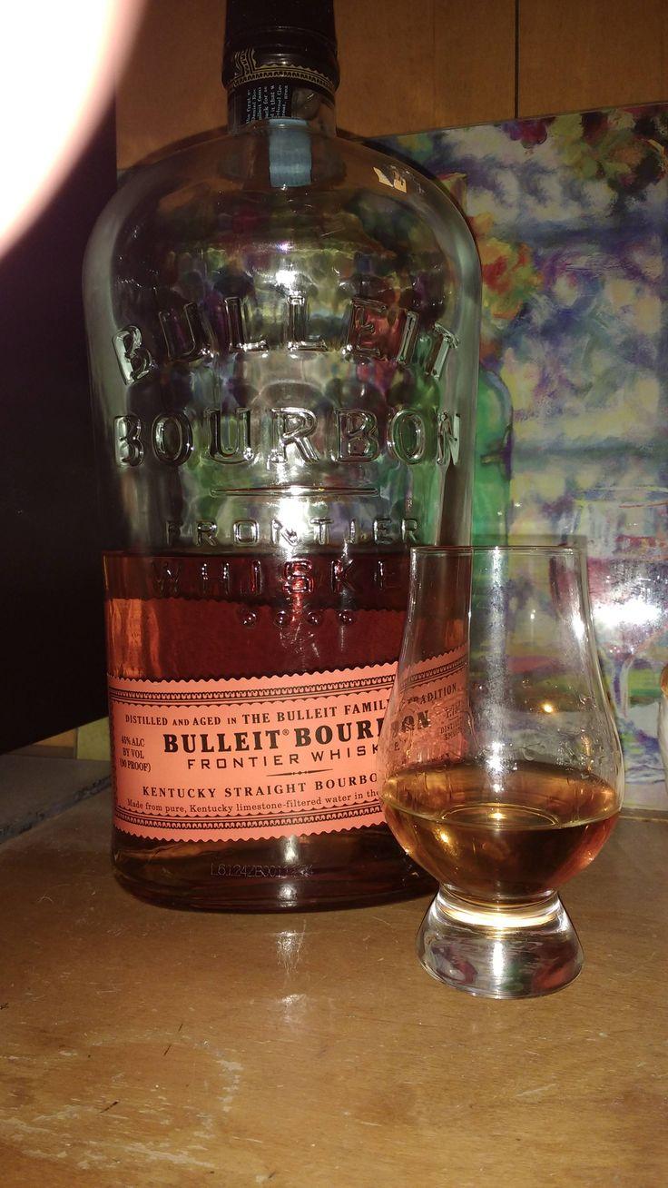 Review 3: Bulleit Bourbon Frontier Whiskey #bourbon #whiskey #whisky #scotch #Kentucky #JimBeam #malt #pappy