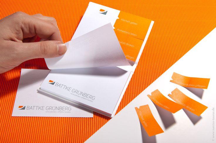 gummed labels for BATTKE GRÜNBERG | design by Monique Mardus