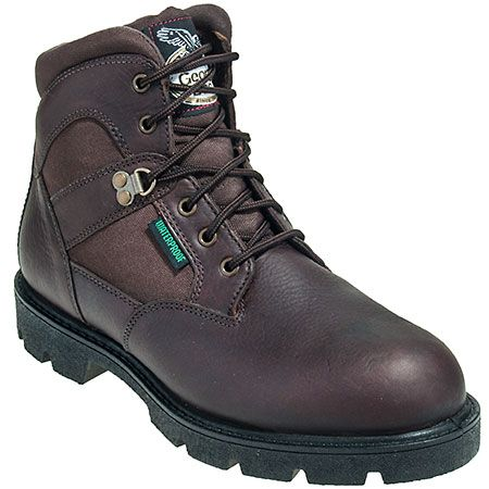Georgia Boots Men's Steel Toe G105 Waterproof EH Homeland Boots