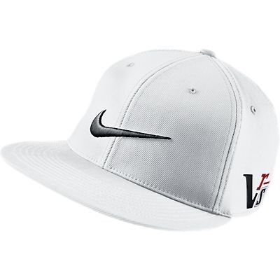 Nike Golf Flat Bill Cap - White