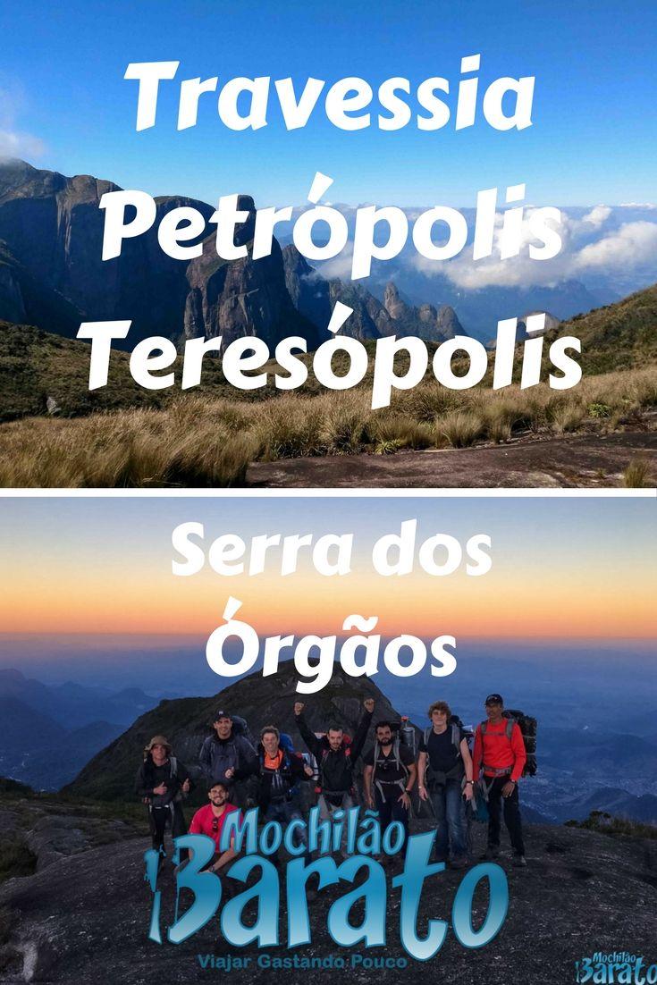Trekking: Travessia Petrópolis x Teresópolis - Serra dos Órgãos.