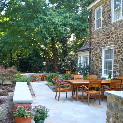 Exterior material and outdoor space