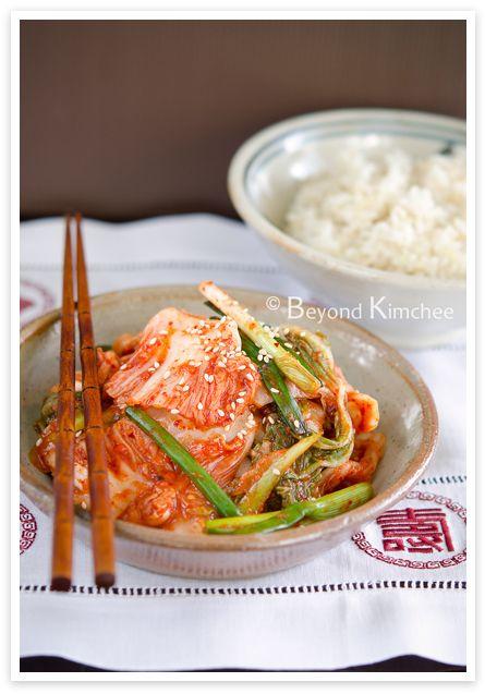 Kimchi, the easy version (mak-kimchi) | Recipe | Kimchi, Cabbages and ...