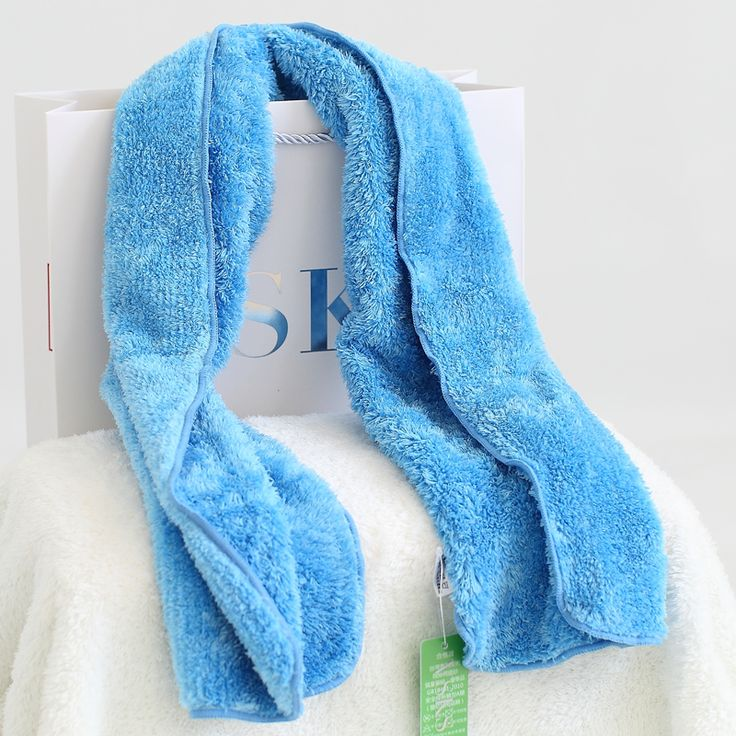 VSKS Sports-Towel-25*105cm/Blue/Natural super-absorbent power, clean without leaving water stains