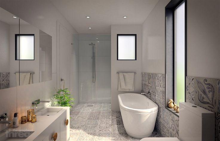 3d visualisation bathroom