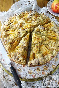 Apfelkuchen - extrem lecker mit Walnüssen