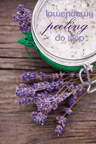 DIY lavender foot scrub recipe / przepis na lawendowy peeling do stóp