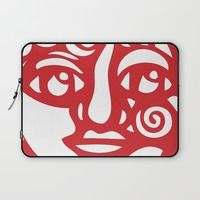 Cara Roja Laptop Sleeve