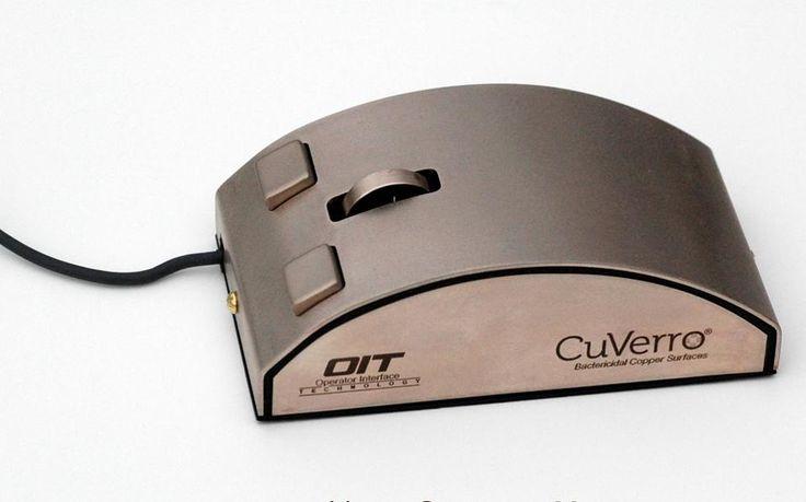 Αντιμικροβιακά ποντίκια και πληκτρολόγια από χαλκό -  Οι συσκευές εισόδου του υπολογιστή είναι πολύ γνωστές ως πηγές μικροβίων. Ωστόσο, η αμερικανική εταιρεία τεχνολογίας Interface έχει την λύση: αντιμικροβιακά πληκτρολόγια και ποντίκια φτιαγμένα από χαλκό.  Σύμφων