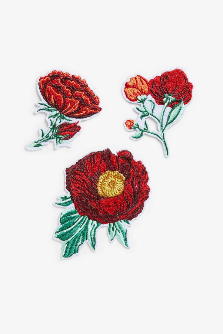 Want to add some colour to your denim jacket or backpack? An iron and these make-over-friendly patches are all you need.