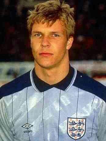 England goalkeeper Chris Woods in 1986.