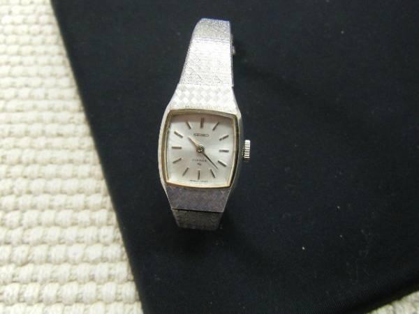 美品本物セイコー手巻き女性腕時計 セレブ調アンティーク稼働 Watch seiko ¥4500yen 〆04月19日
