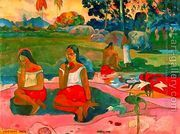 Miraculous Source  by Paul Gauguin