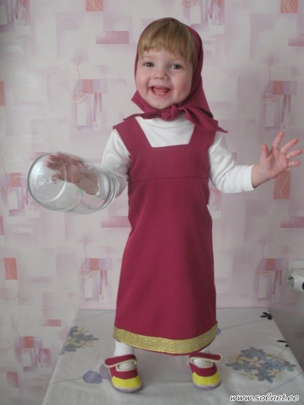 Как сделать костюм маши - Sdxz.ru
