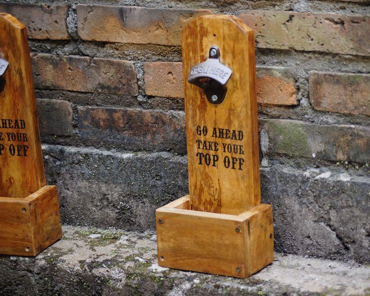 Jual Pembuka Botol kayu bergaya vintage - Decoria Jogja | Tokopedia