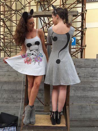caterina borghi - Google+ Abiti dipinti a mano da Caterina Borghi