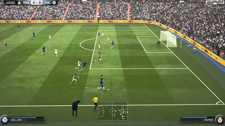 FIFA 15 Kick Off 1-1 REA V CHE, 2nd Half