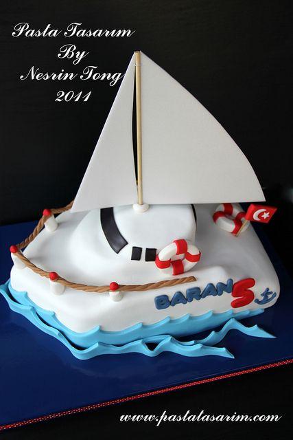 SAILBOAT CAKE - BARAN | Flickr - Photo Sharing!