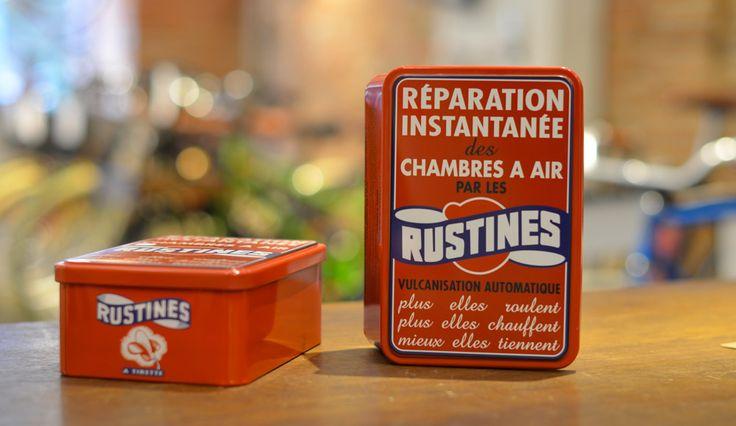 boite-metal-sucre-rustine  Boîte métal Rustine : 20€ Parfait pour y ranger le sucre ou les gateaux secs : 19,50 x 13 x 7 cm