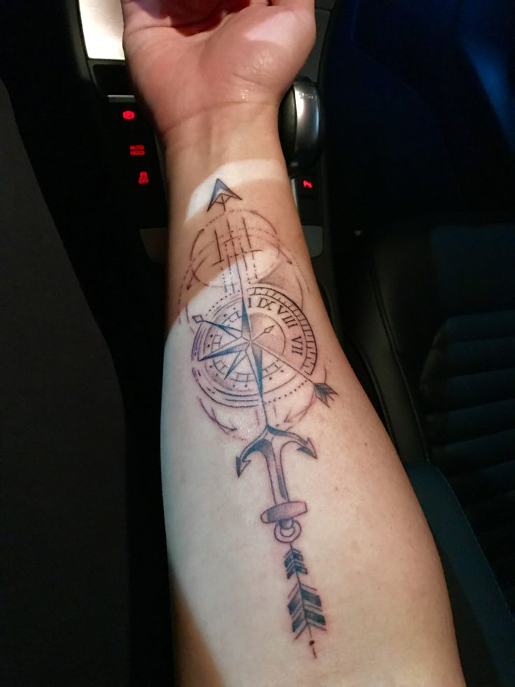Pin de tulio ferrari gradim em tatuagem masculina for Tatoo bussola