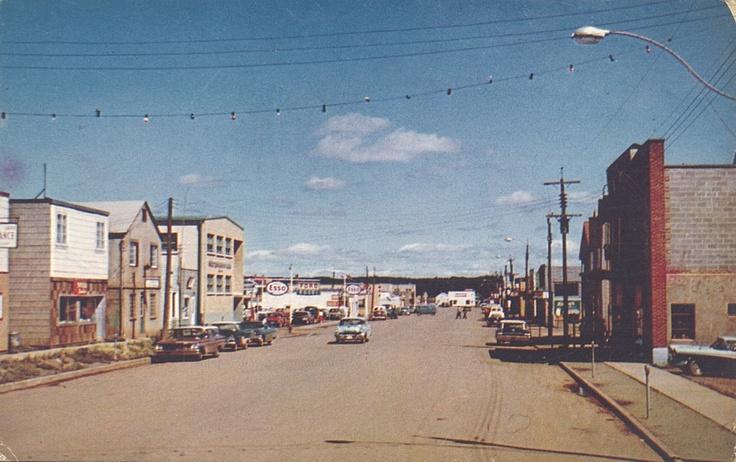 Downtown Atikokan, late 1950s.