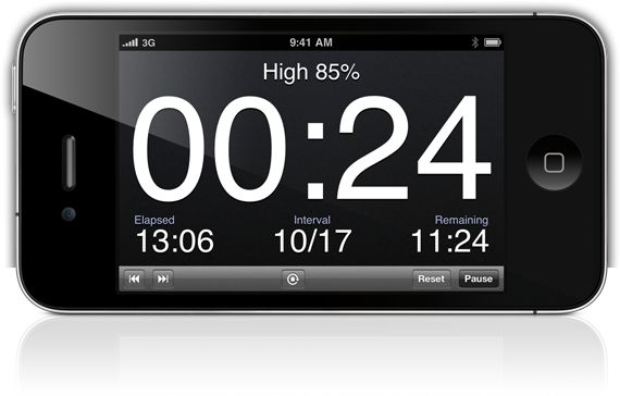 Seconds is a programmable interval timer iPhone, iPadx and iPod touch. It features HIIT and round timer wizards as well as advanced fine tun...