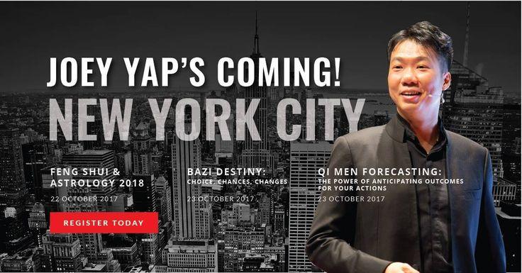 Joey Yap New York 2017