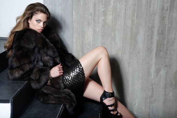 Win the gold medal in style, wearing this Russian sable fur jacket. Simply marvellous!