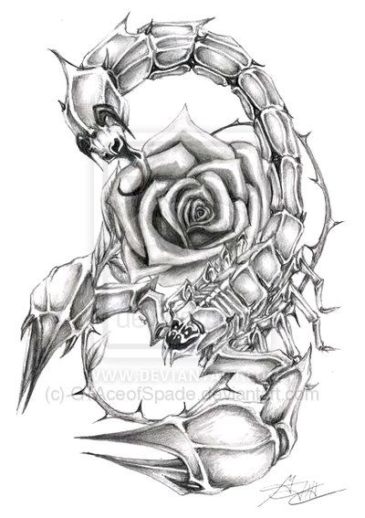 3d scorpio ankle tattoos cool rose tattoo designs from